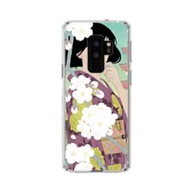 ザ・桜&ジャパンガール! Samsung Galaxy S9 Plus TPU クリアケース