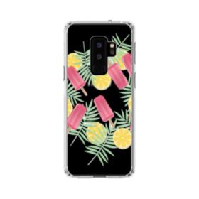 アイスバー&レモン Samsung Galaxy S9 Plus TPU クリアケース