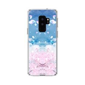 桜の花びら Samsung Galaxy S9 Plus TPU クリアケース