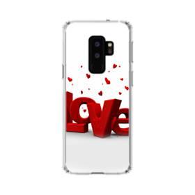 愛のイメージ:love&ハート Samsung Galaxy S9 Plus TPU クリアケース