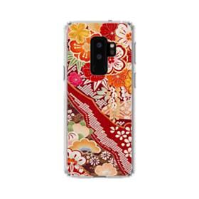 和・花柄 Samsung Galaxy S9 Plus TPU クリアケース
