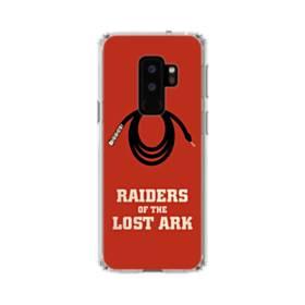 80年代アメリカ映画:レイダース/失われたアーク Raiders of the Lost Ark Samsung Galaxy S9 Plus TPU クリアケース