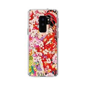 和・花魁&桜 Samsung Galaxy S9 Plus TPU クリアケース