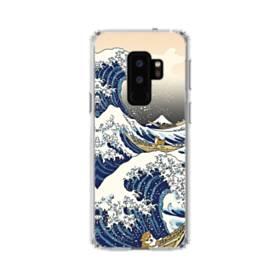 和柄:柴犬in浮世絵 Samsung Galaxy S9 Plus TPU クリアケース