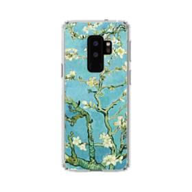 名画:花咲くアーモンドの枝 ファンセント・ファン・ゴッホ Samsung Galaxy S9 Plus TPU クリアケース