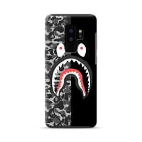 面白いブラック・スーパー ミ(super me) Samsung Galaxy S9 Plus ポリカーボネート タフケース