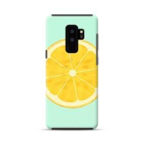 シンプル・ザ・レモン Samsung Galaxy S9 Plus ポリカーボネート タフケース
