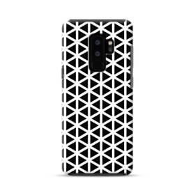 アートな白黒系モチーフ② Samsung Galaxy S9 Plus ポリカーボネート タフケース