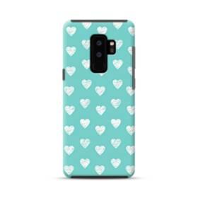 多くのハート Samsung Galaxy S9 Plus ポリカーボネート タフケース