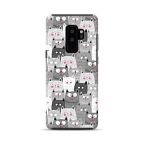 多くの子猫 Samsung Galaxy S9 Plus ポリカーボネート タフケース