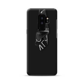 クールなブラック系パターン002 Samsung Galaxy S9 Plus ポリカーボネート タフケース
