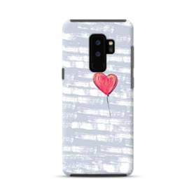 ハートバルーン Samsung Galaxy S9 Plus ポリカーボネート タフケース