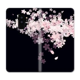 爛漫・桜 Samsung Galaxy S9 Plus 合皮 手帳型ケース