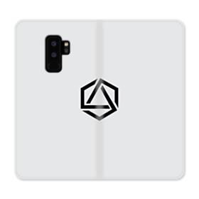 デザイン アートな三角005 Samsung Galaxy S9 Plus 合皮 手帳型ケース