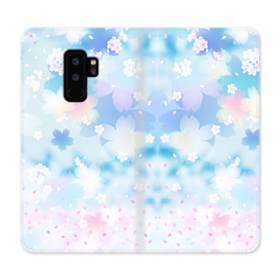 爛漫桜の花 Samsung Galaxy S9 Plus 合皮 手帳型ケース