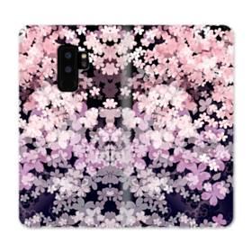 爛漫・夜桜 Samsung Galaxy S9 Plus 合皮 手帳型ケース