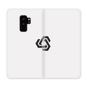 デザイン アートな三角004 Samsung Galaxy S9 Plus 合皮 手帳型ケース