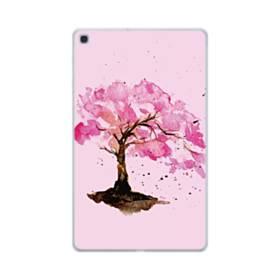 水彩画・桜の木 Samsung Galaxy Tab A 10.1 (2019) TPU クリアケース