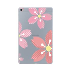 可愛い・桜シリーズ01 Samsung Galaxy Tab A 10.1 (2019) TPU クリアケース