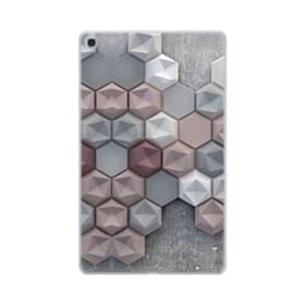 つぶつぶ六角形 Samsung Galaxy Tab A 10.1 (2019) TPU クリアケース