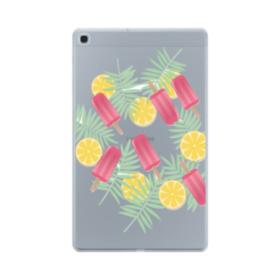 アイスバー&レモン Samsung Galaxy Tab A 10.1 (2019) TPU クリアケース