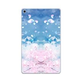桜の花びら Samsung Galaxy Tab A 10.1 (2019) TPU クリアケース