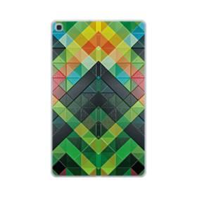 抽象的なモザイクパターン Samsung Galaxy Tab A 10.1 (2019) TPU クリアケース