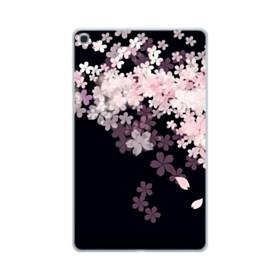 爛漫・桜 Samsung Galaxy Tab A 10.1 (2019) TPU クリアケース