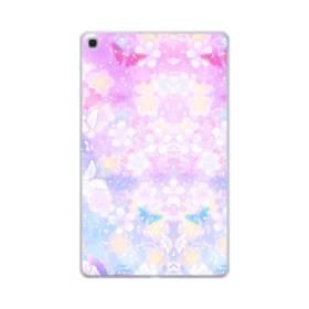 爛漫・抽象的な桜の花 Samsung Galaxy Tab A 10.1 (2019) TPU クリアケース