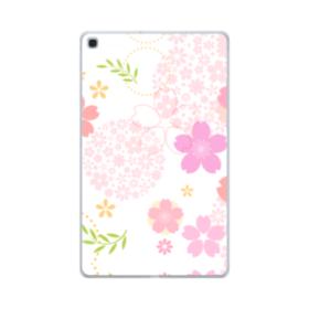 桜の形・いろいろ Samsung Galaxy Tab A 10.1 (2019) TPU クリアケース
