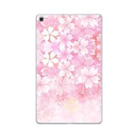 爛漫・ピンク&桜色 Samsung Galaxy Tab A 10.1 (2019) TPU クリアケース