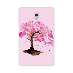 水彩画・桜の木 Samsung Galaxy Tab A 10.5 TPU クリアケース