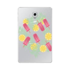 アイスバー&レモン Samsung Galaxy Tab A 10.5 TPU クリアケース