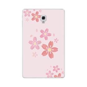 春・桜の花001 Samsung Galaxy Tab A 10.5 TPU クリアケース