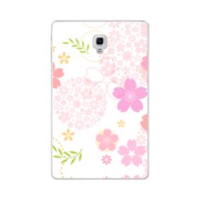 桜の形・いろいろ Samsung Galaxy Tab A 10.5 TPU クリアケース