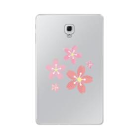 春・桜の花002 Samsung Galaxy Tab A 10.5 TPU クリアケース