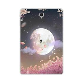 爛漫・夜桜&私たち Samsung Galaxy Tab S4 10.5 TPU クリアケース