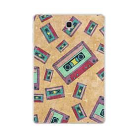 デザイン 思い出(テープ)・モチーフ Samsung Galaxy Tab S4 10.5 TPU クリアケース