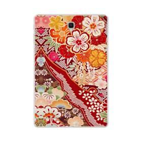 和・花柄 Samsung Galaxy Tab S4 10.5 TPU クリアケース