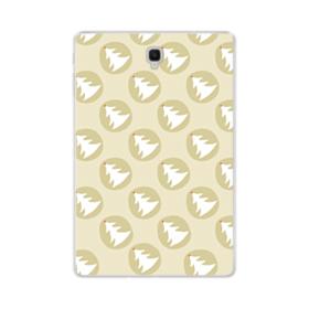 デザイン クリスマス ツリー パターン Samsung Galaxy Tab S4 10.5 TPU クリアケース
