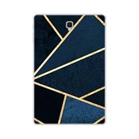 イケメン模様:紺&ゴールド Samsung Galaxy Tab S4 10.5 TPU クリアケース