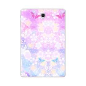 爛漫・抽象的な桜の花 Samsung Galaxy Tab S4 10.5 TPU クリアケース
