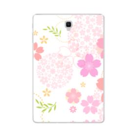 桜の形・いろいろ Samsung Galaxy Tab S4 10.5 TPU クリアケース