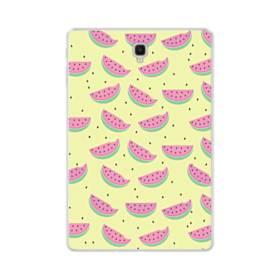 デザイン・西瓜のパターン001 Samsung Galaxy Tab S4 10.5 TPU クリアケース