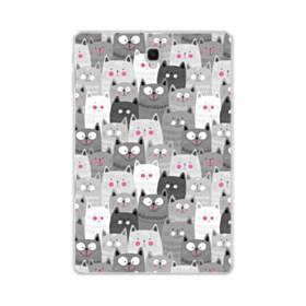 多くの子猫 Samsung Galaxy Tab S4 10.5 TPU クリアケース