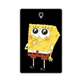 可愛いスポンジボブ Samsung Galaxy Tab S4 10.5 TPU クリアケース