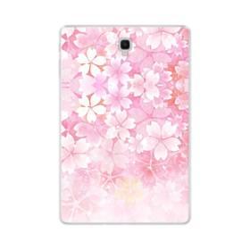 爛漫・ピンク&桜色 Samsung Galaxy Tab S4 10.5 TPU クリアケース