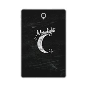 デザイン アルファベット010 moonlight Samsung Galaxy Tab S4 10.5 TPU クリアケース