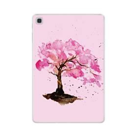 水彩画・桜の木 Samsung Galaxy Tab S5e TPU クリアケース