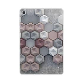 つぶつぶ六角形 Samsung Galaxy Tab S5e TPU クリアケース